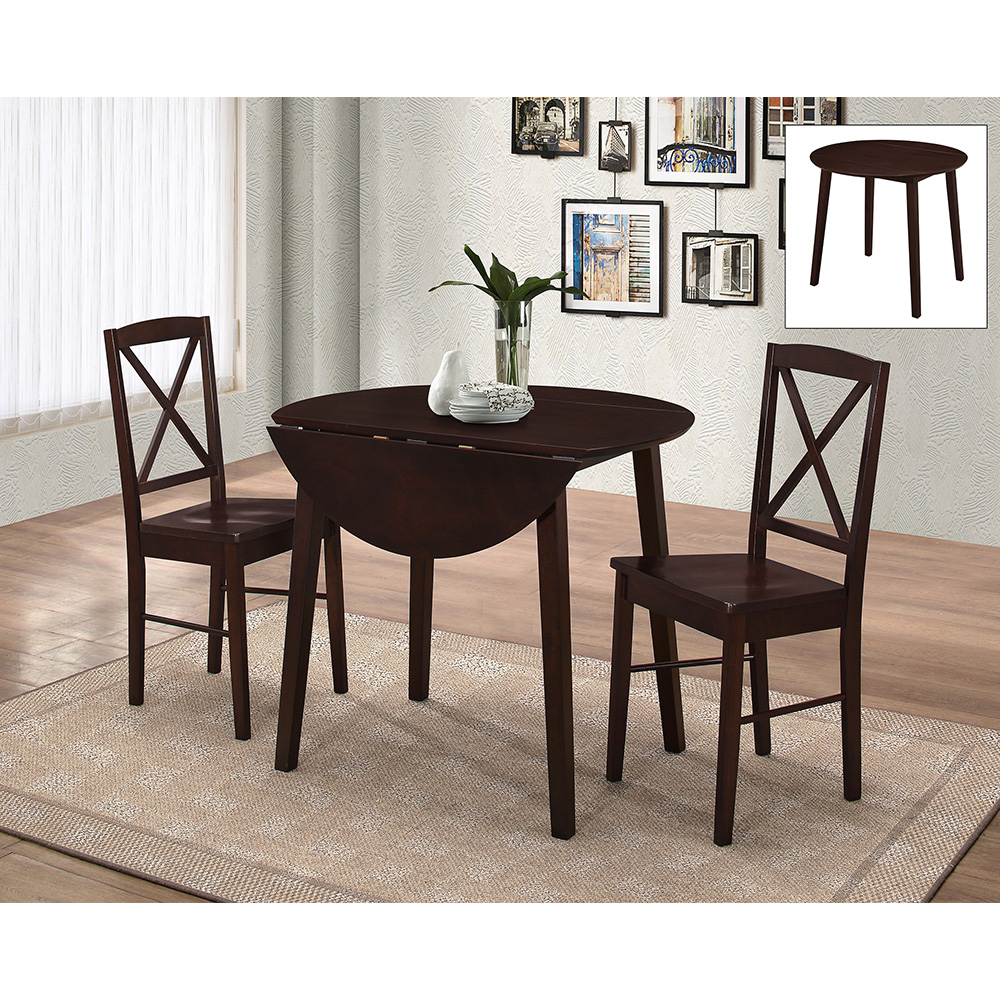 Andreas Dining Set (Cappuccino)
