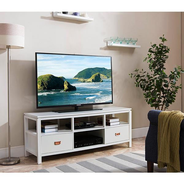 Trenton TV Stand (White)