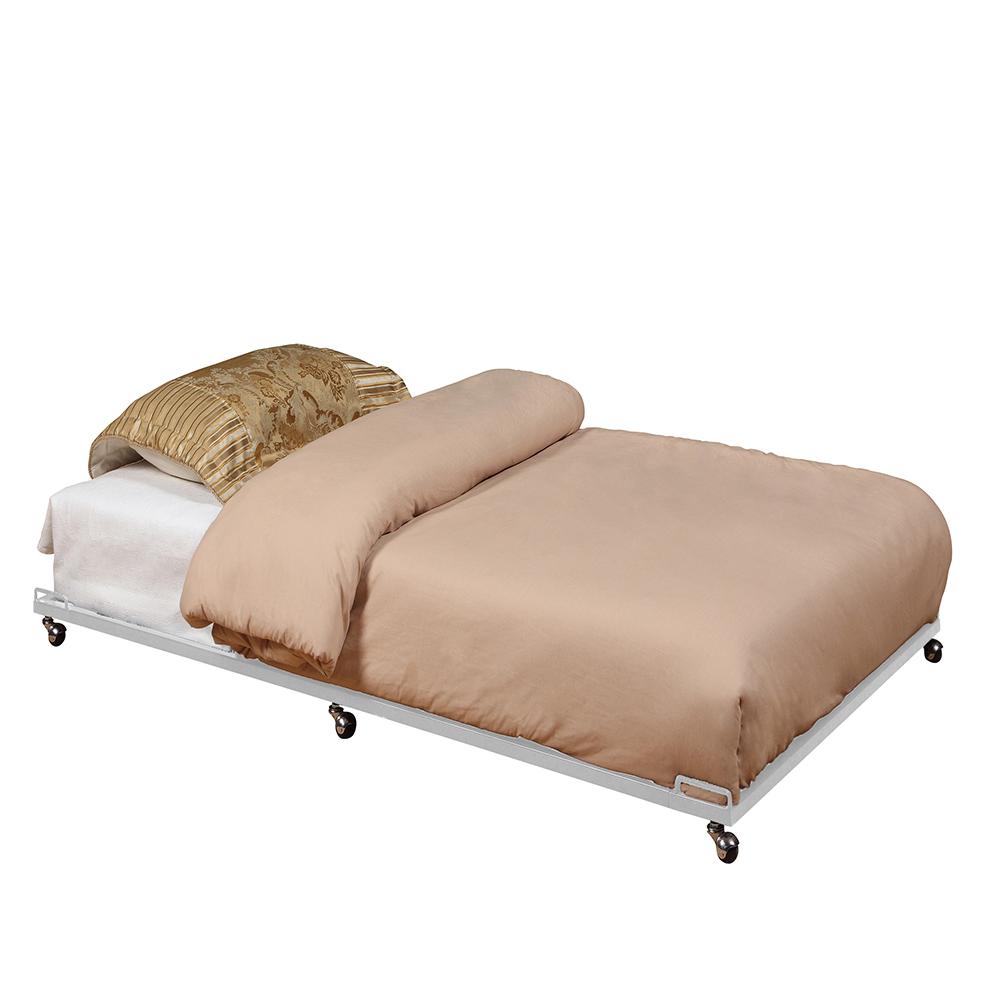 Bellamy Trundle Bed (Cream White)