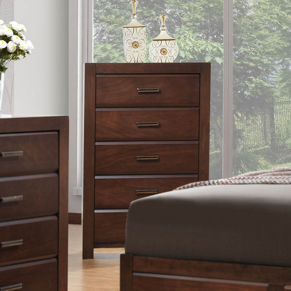 Torino Wood 5-Drawer Chest
