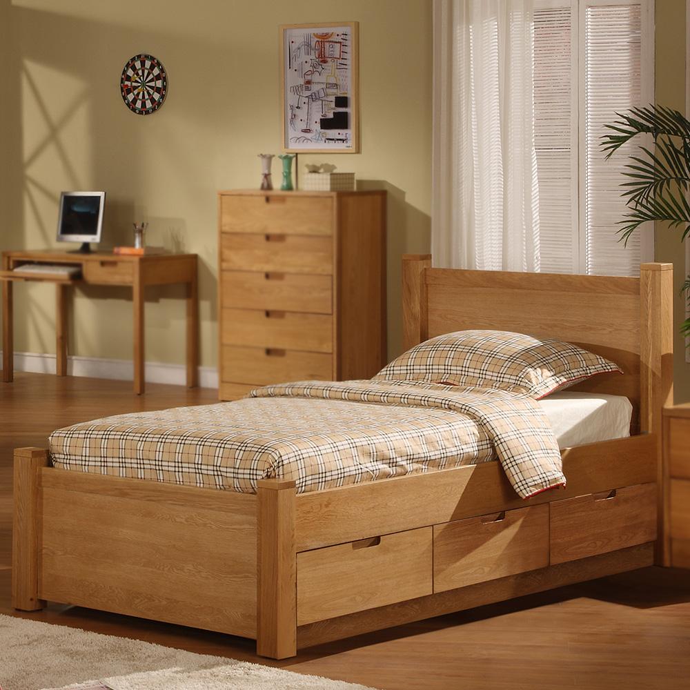 Walden Wood Bed (Natural)