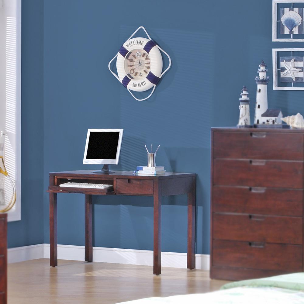 Walden Wood Desk (Dark Cherry)