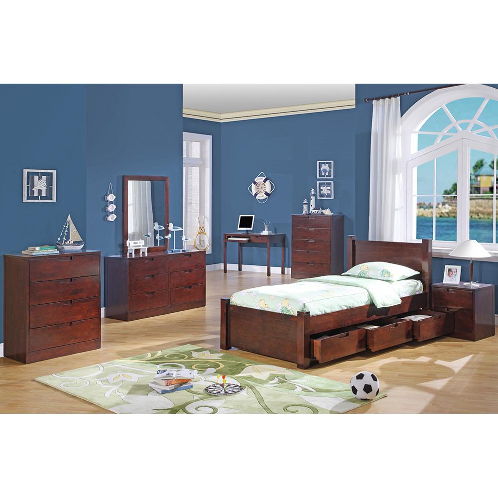 Walden Bedroom Collection (Dark Cherry)