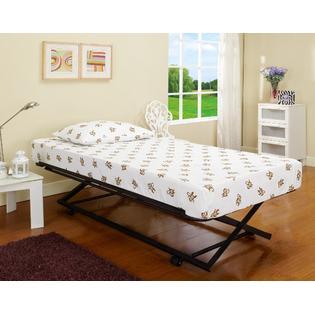 Armada Pop-Up Trundle Bed (Black)