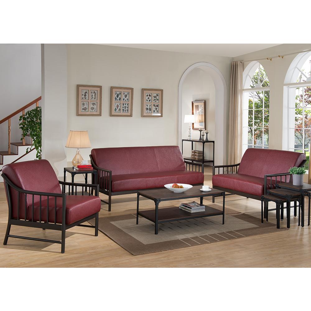 Livingstone Leather Living Room Set