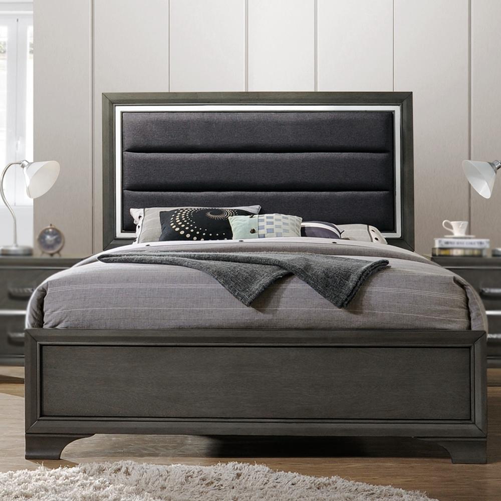 Oceana Upholstered Bed (King/Queen)