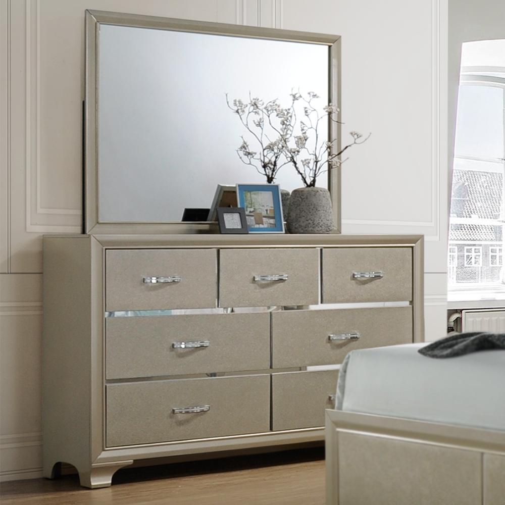 Tuscola 7-Drawer Dresser / Optional Mirror