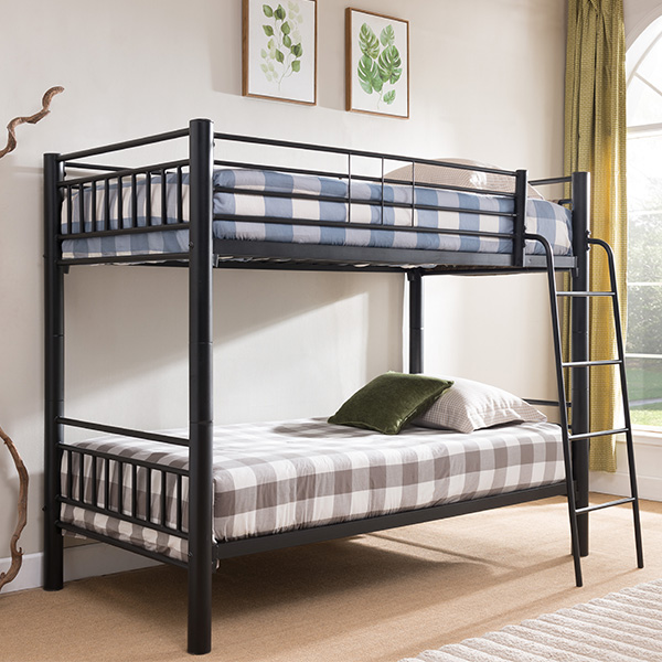 Convertible Bunk Beds Walmart Walmart Cientouno Linon Twinsize