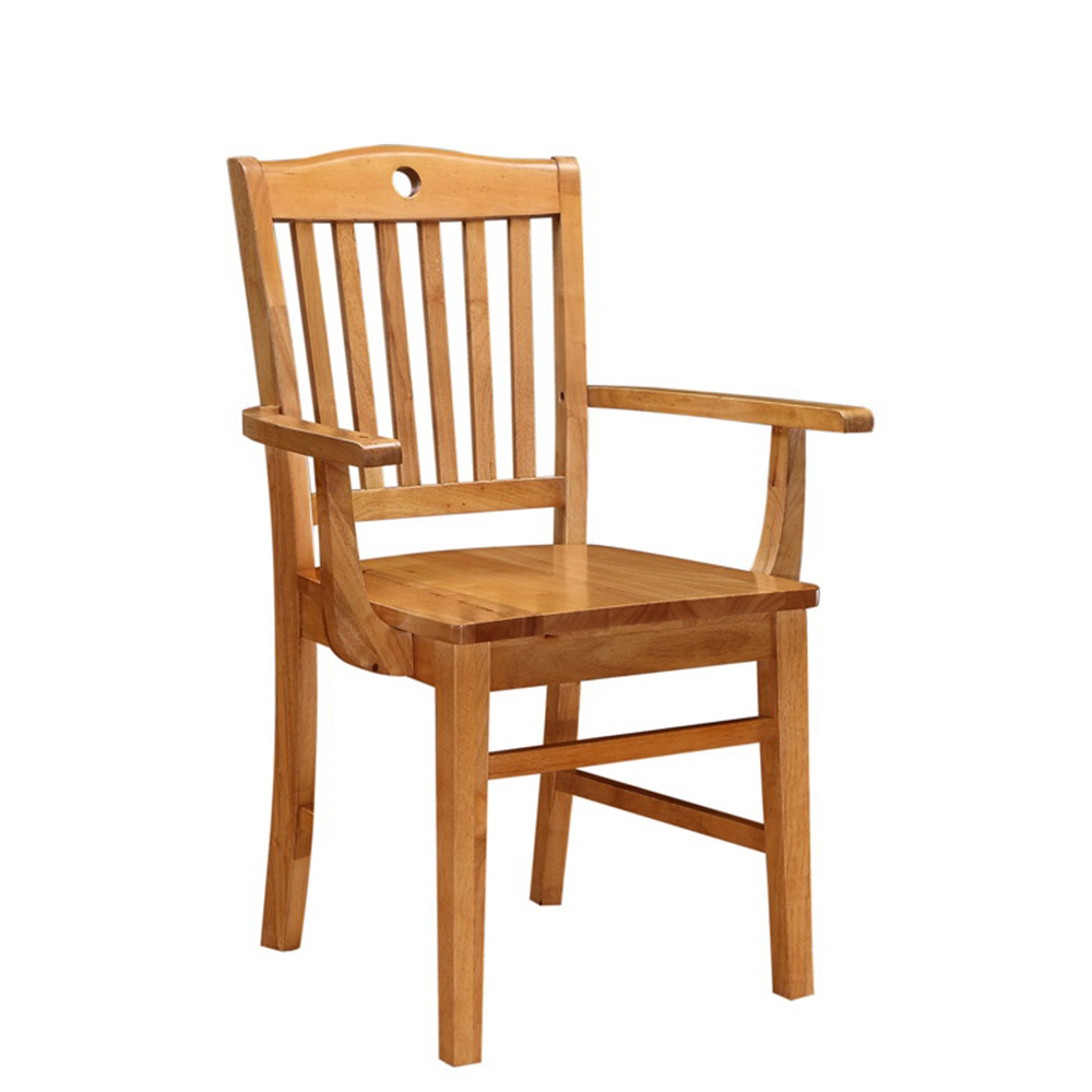 Apex Wood Armchair (Natural Finish)