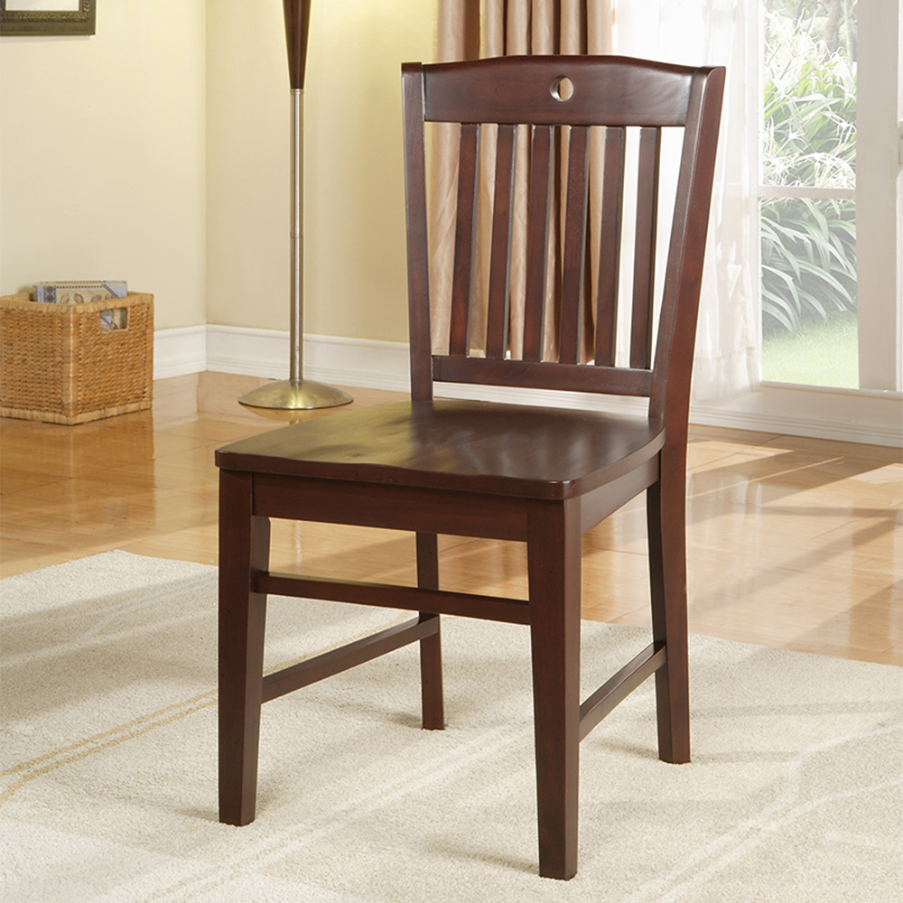 Apex Wood Side Chair (Cherry)