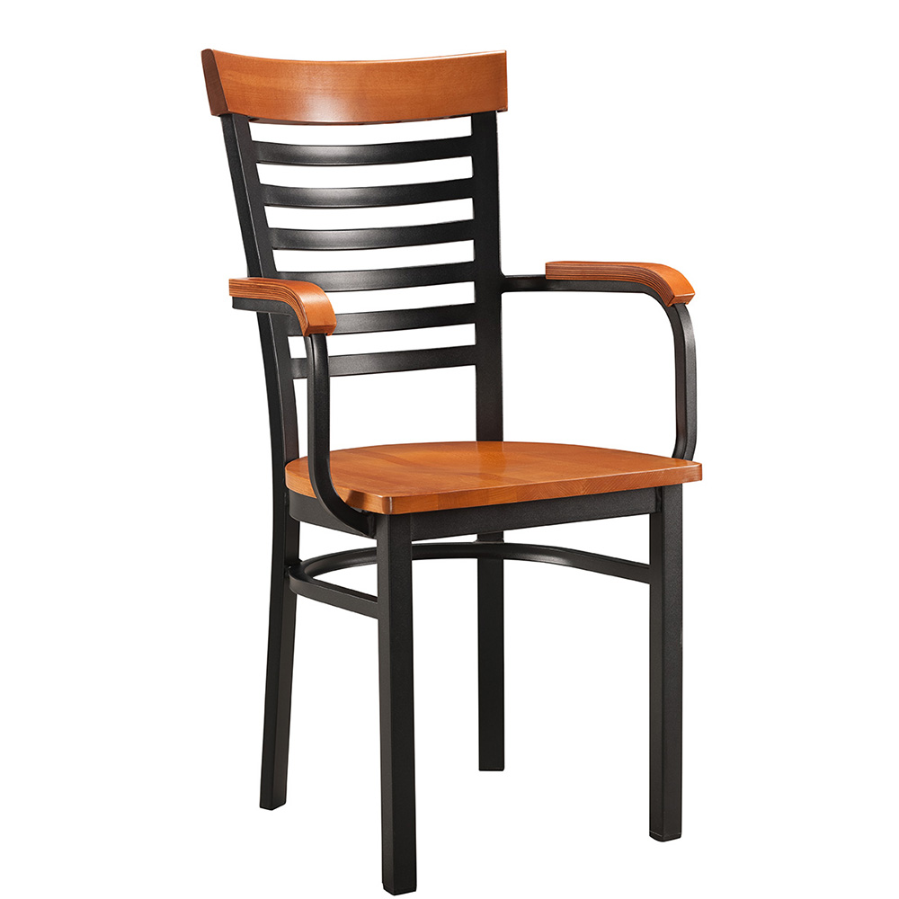 Ashmore Wood & Metal Chair