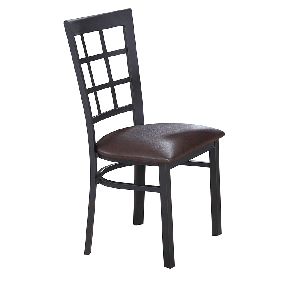 Baudelaire Metal Chair (Vinyl Seat)