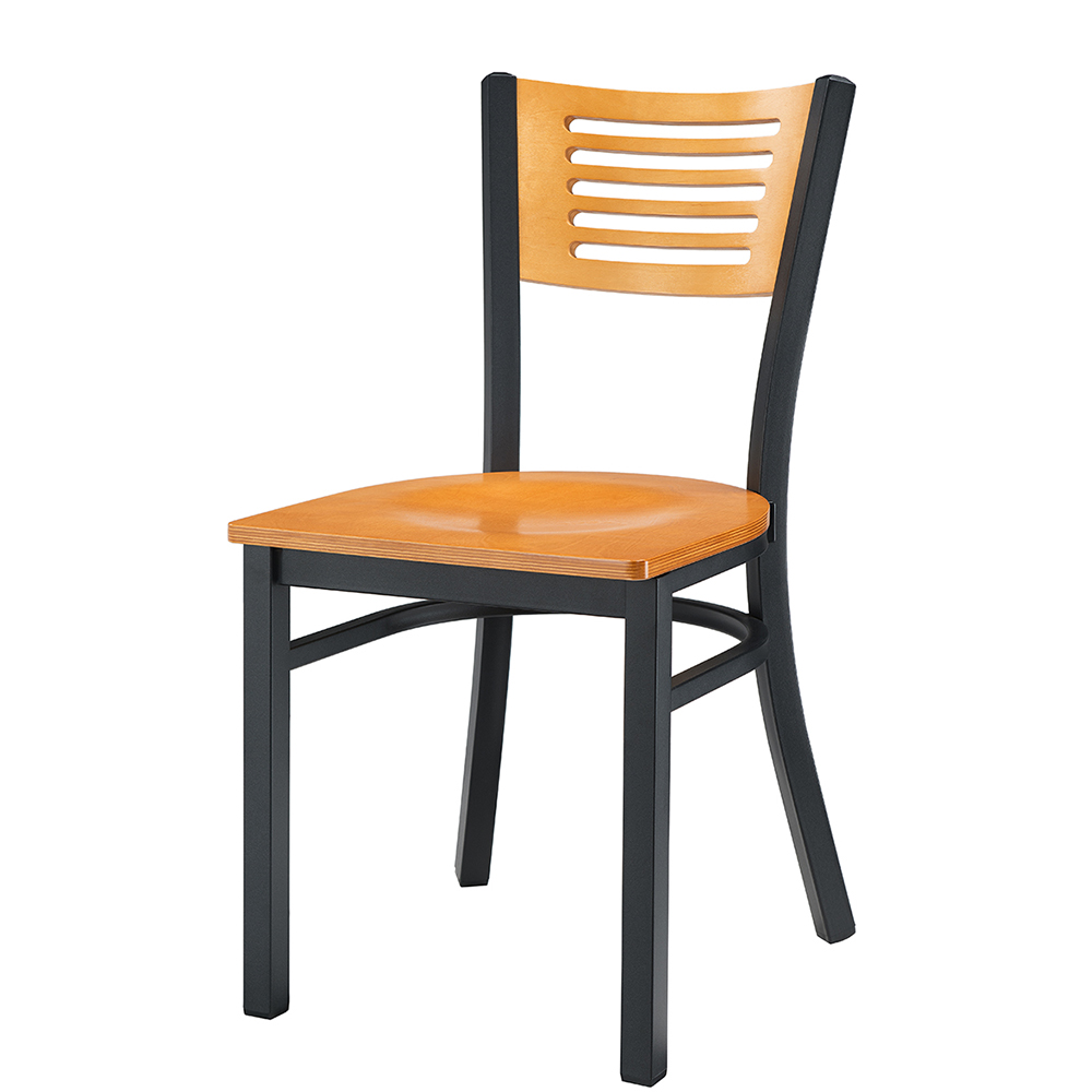 Arsenio Wood & Metal Chair (Natural)