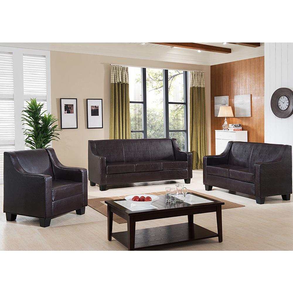 Odessa Leather Living Room Set