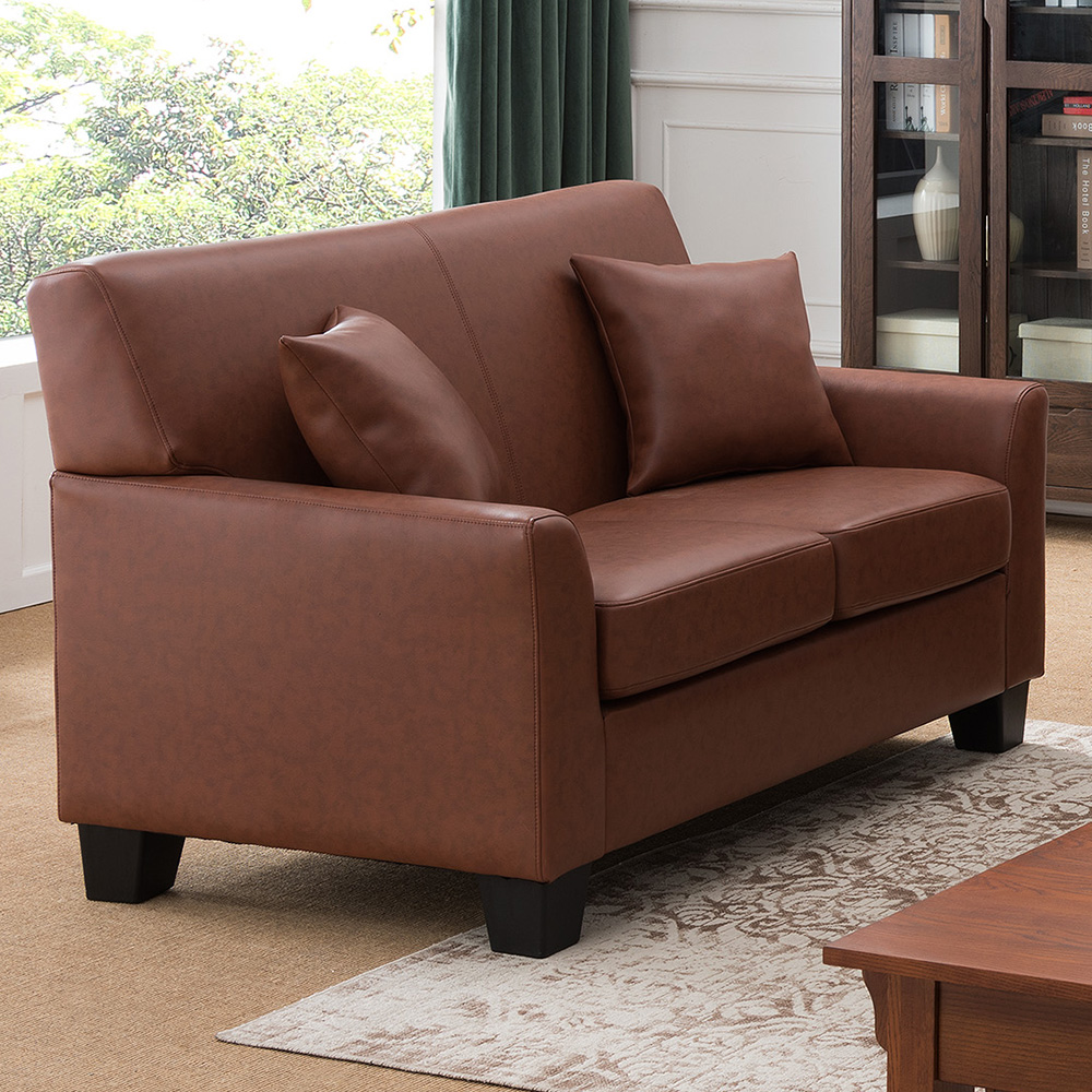 Westerville Leather Loveseat