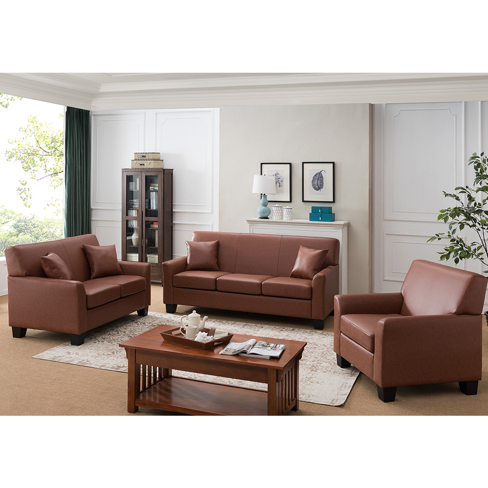 Westerville Leather Living Room Set