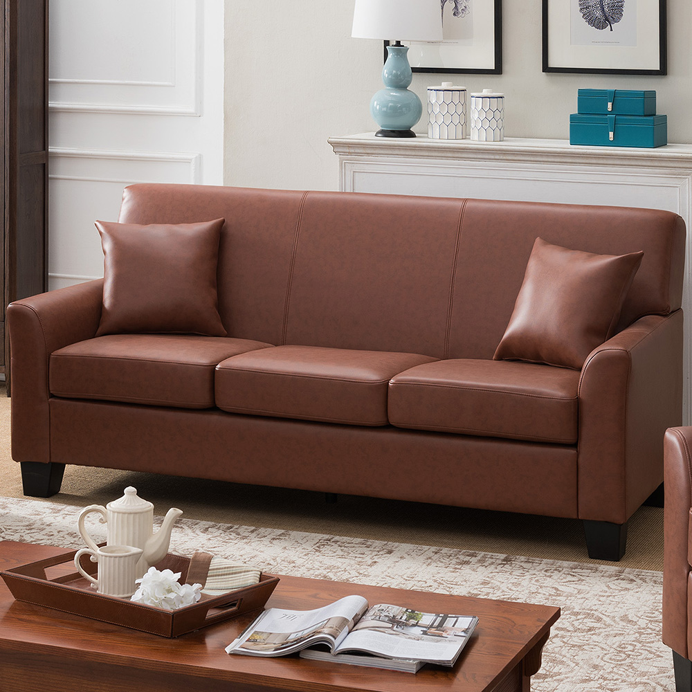 Westerville Leather Sofa