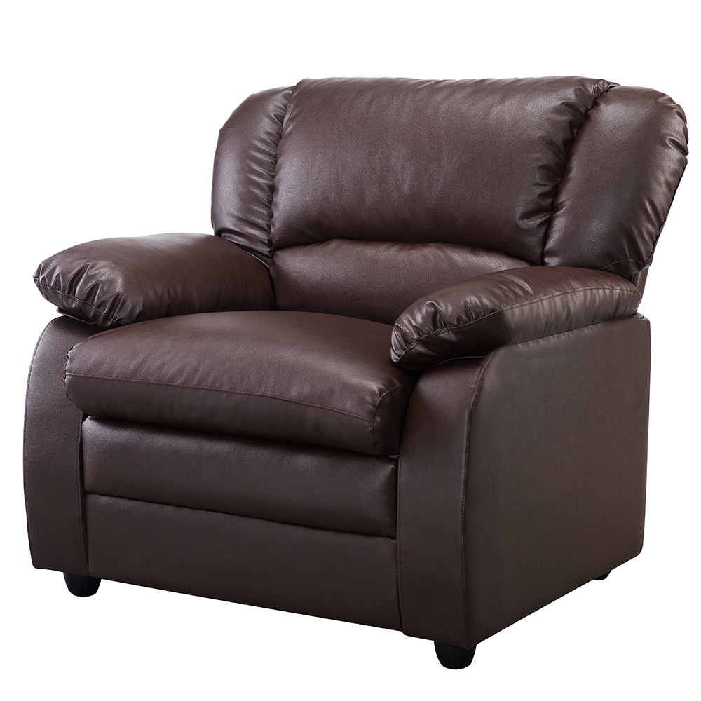 Abanda Leather Chair (Brown)