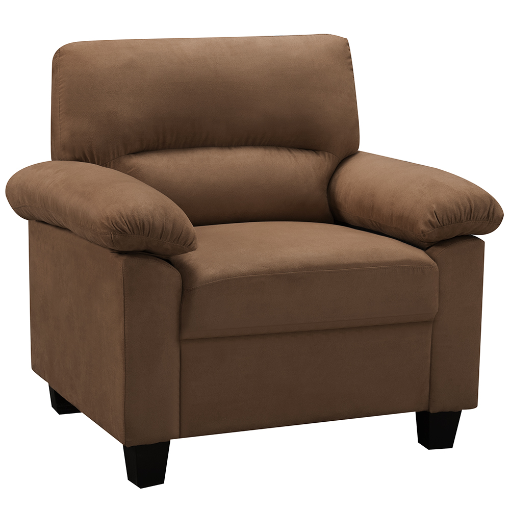 Ames Fabric Chair (Brown)