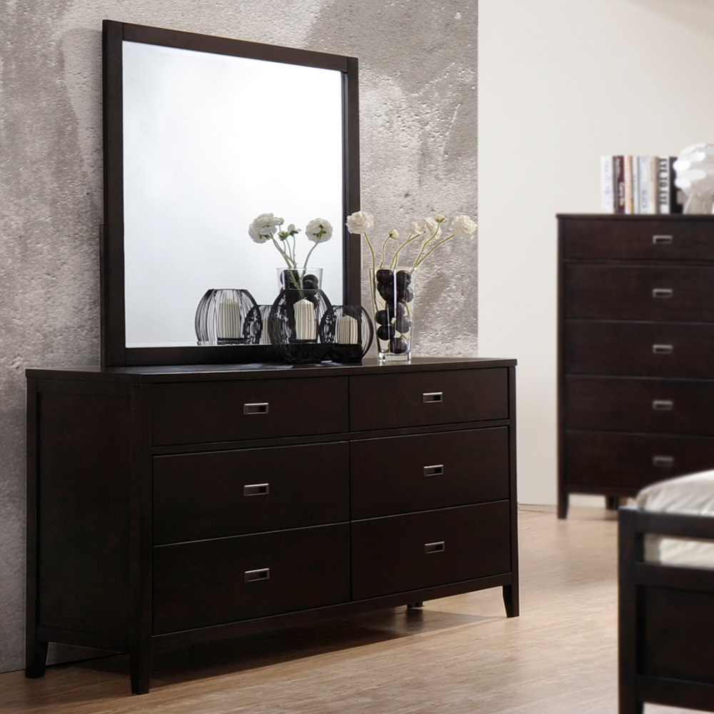 Bradbury 6 Drawer Double Dresser