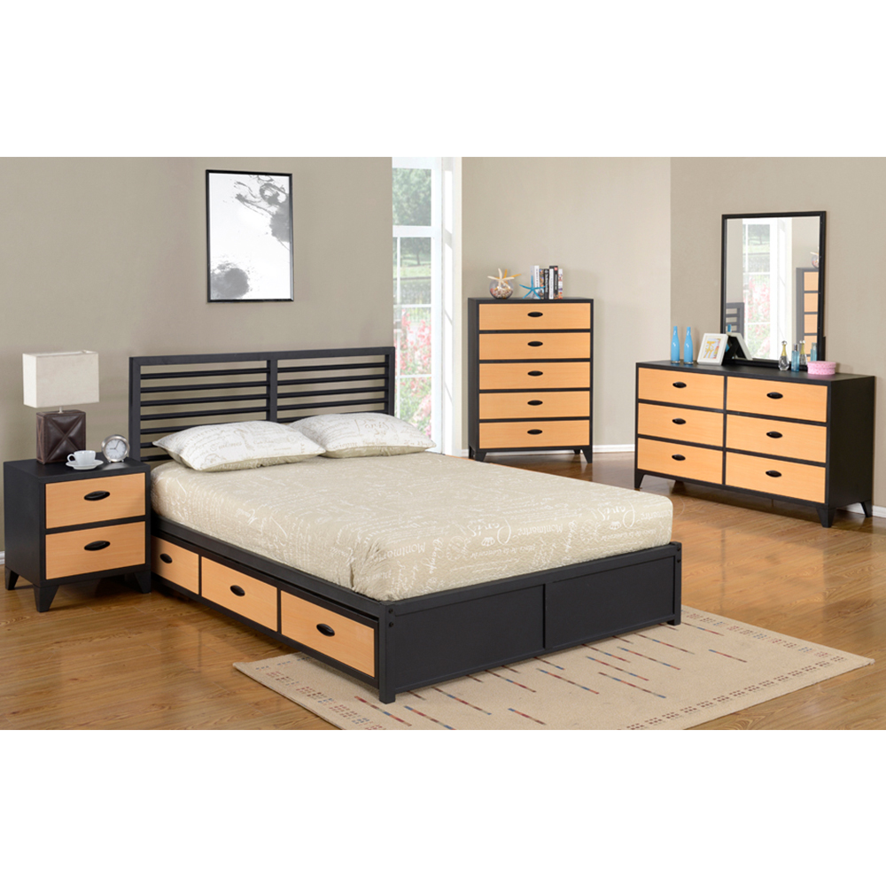Maoz Steel Bedroom Collection (Natural)