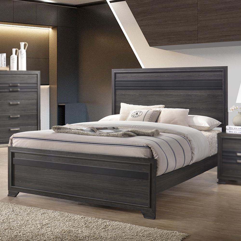 Gideon Wood Bed
