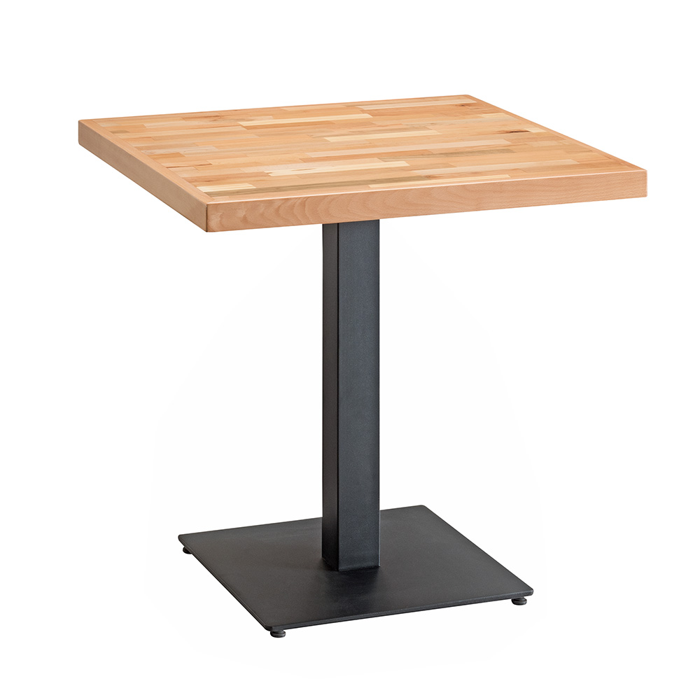 Carlton Solid Wood Square Table (Natural)