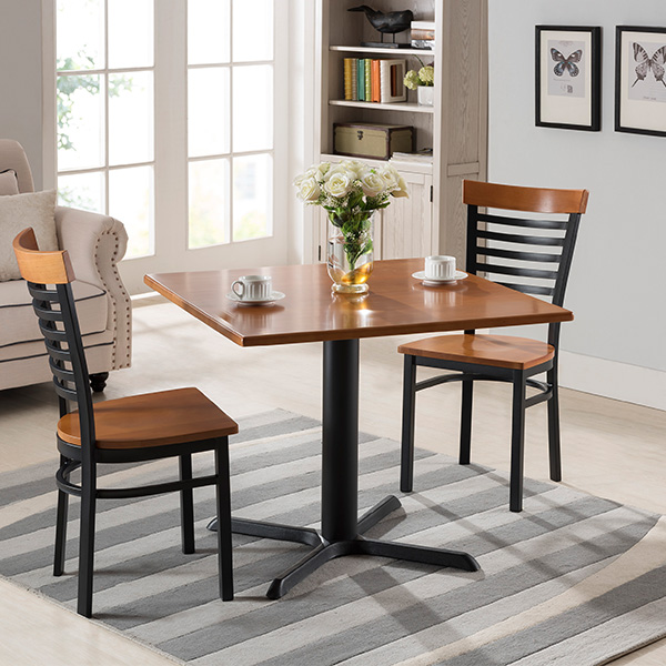 Steinbeck Square Dining Set (Natural)