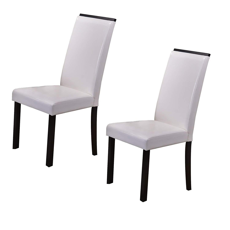 Bellerose Chair (White) - Set of 2