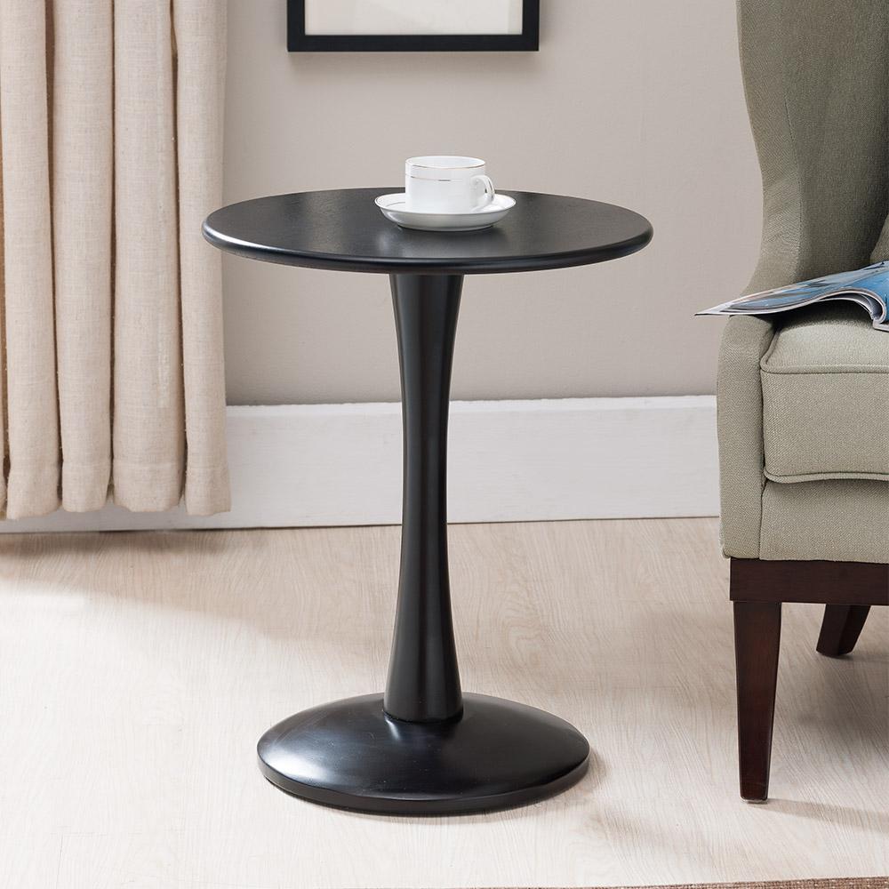Aldor Plant Stand/Side Table (Black)
