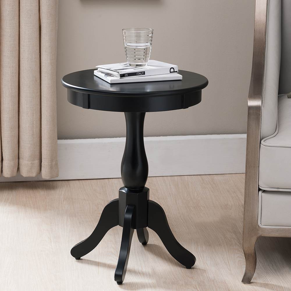 Camus Plant Stand / Side Table (Black)