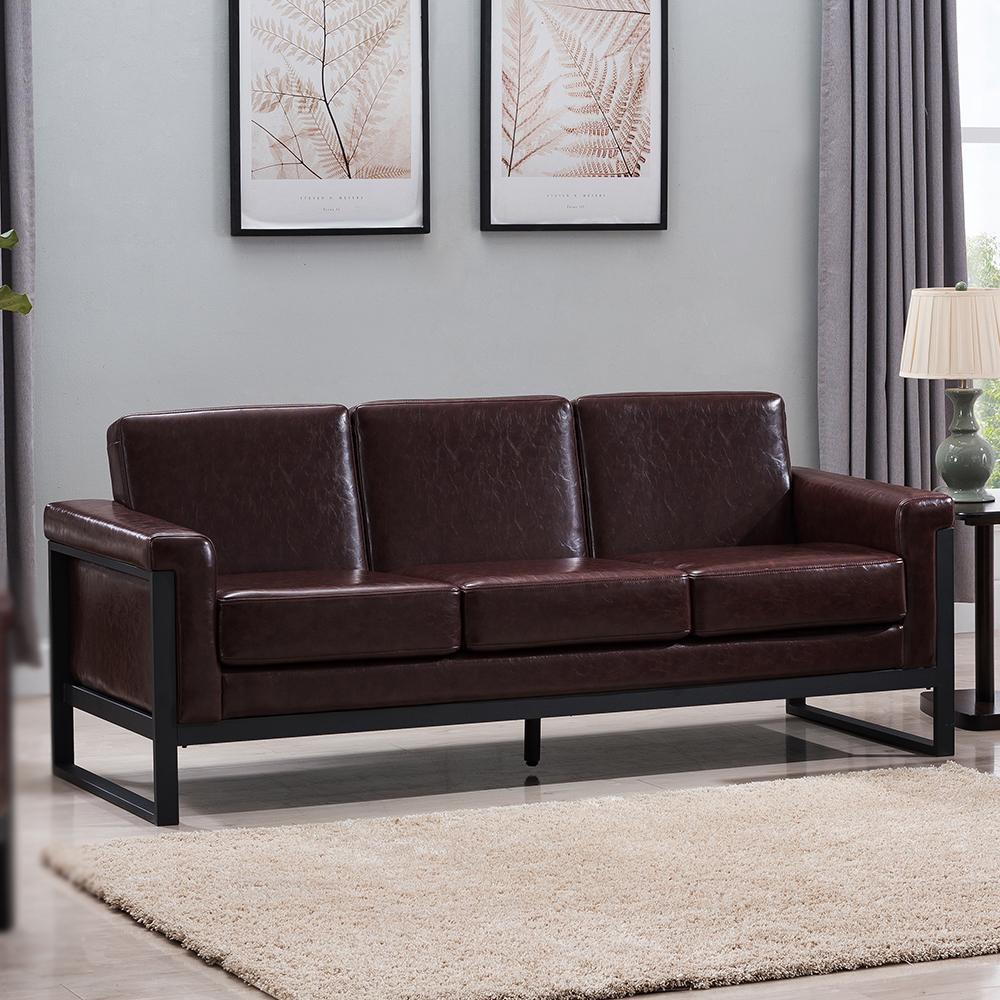Hugo Leather Sofa